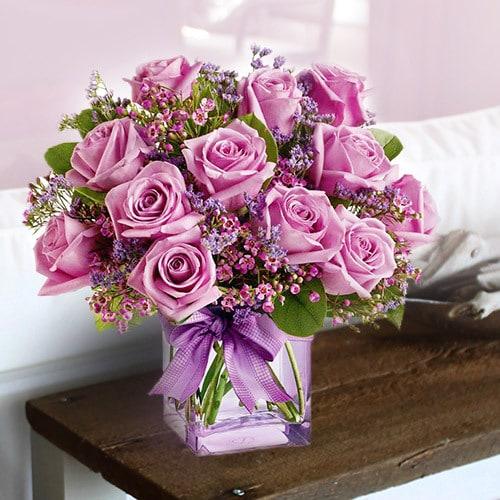 Purple Medley | Buy Flowers in Dubai UAE | Gifts