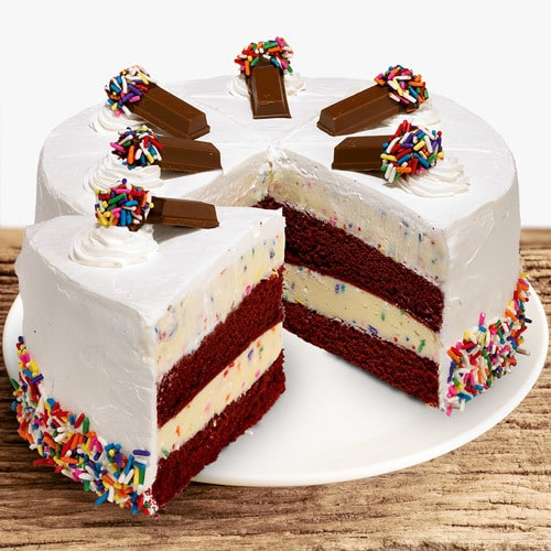 Coldstone Cake Batter Confetti Ice Cream Cake | Buy Cakes in Dubai UAE | Gifts