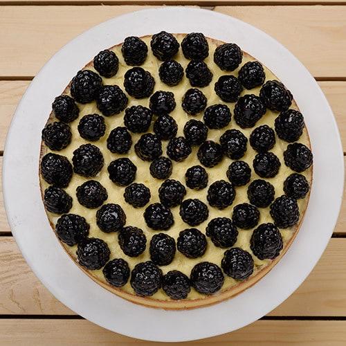 Blackberry Tart   Buy Desserts in Dubai UAE   Gifts