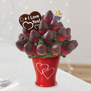 Sweetheart Bouquet with Belgian Chocolate Pop | Buy Desserts in Dubai UAE | Gifts