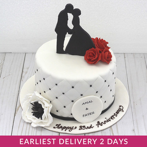 Anniversary Cake (Serves 15) Cakes| Buy Cakes in Dubai UAE | Gifts