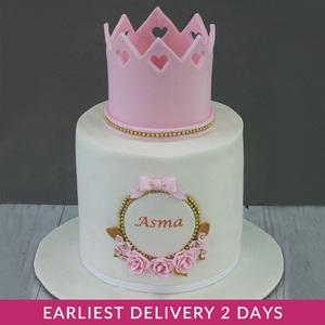 Princess Corwn Birthday Cake | Buy Cakes in Dubai UAE | Gifts