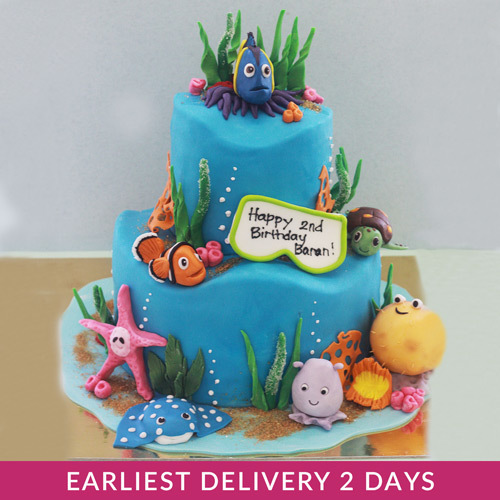 Finding Dory Themed Cake | Buy Cakes in Dubai UAE | Gifts