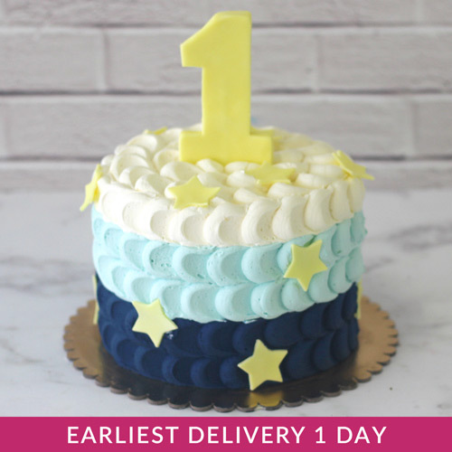 Pleasing First Birthday Smash Cake Buy Cakes In Dubai Uae Gifts Personalised Birthday Cards Veneteletsinfo