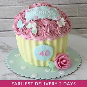 Flower Cupcake Smash Cake | Buy Cakes in Dubai UAE | Gifts