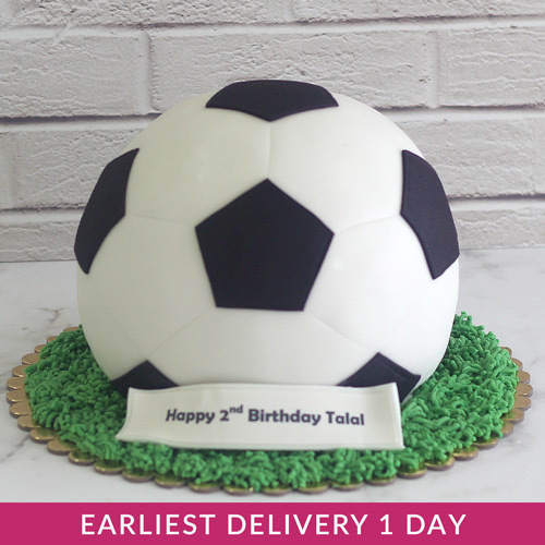 Fantastic Football Cake Buy Cakes In Dubai Uae Gifts Personalised Birthday Cards Paralily Jamesorg