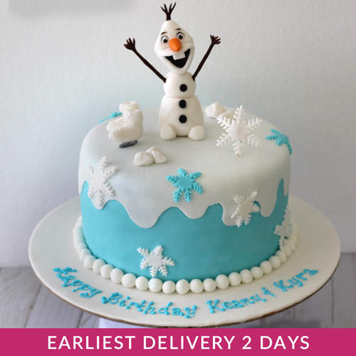 Frozen Theme Cake Buy Cakes In Dubai Uae Gifts