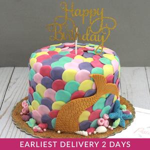 Mermaid Cake | Buy Cakes in Dubai UAE | Gifts