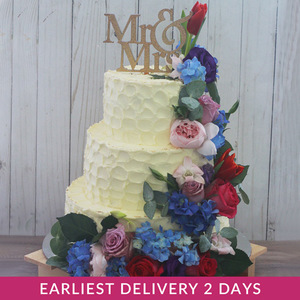 Happily Ever After Wedding Cake | Buy Cakes in Dubai UAE | Gifts