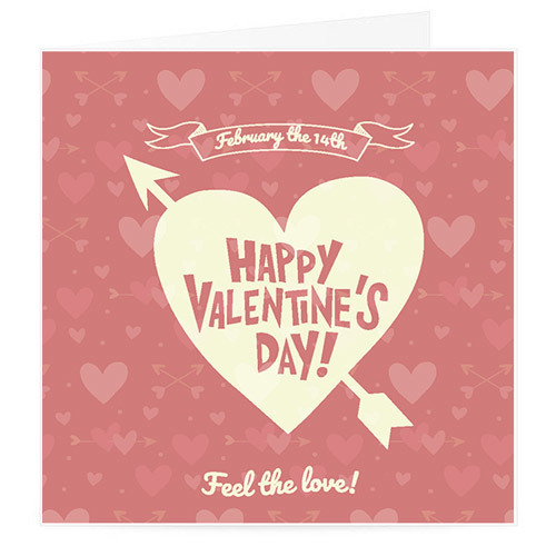 Happy Valentine's Day Card   Buy Stationary in Dubai UAE   Gifts