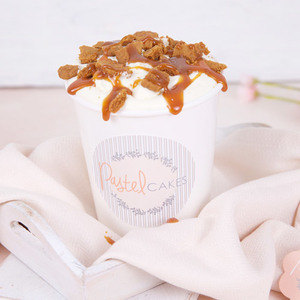Caramel Crunch Dessert Cup (Serves 1) | Buy Desserts in Dubai UAE | Gifts