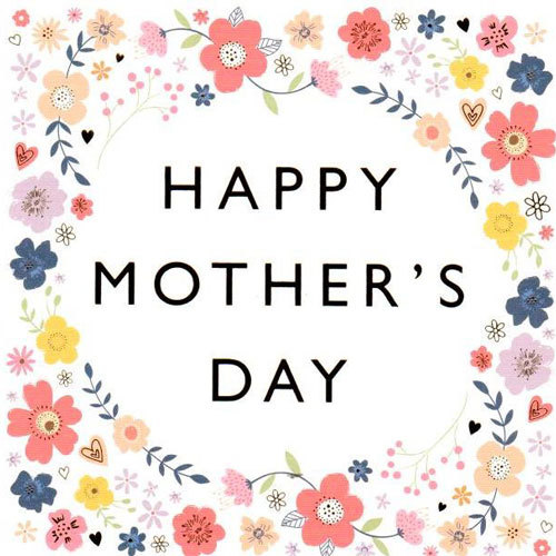 Happy Mother's Day Floral Card | Buy Gifts in Dubai UAE | Gifts