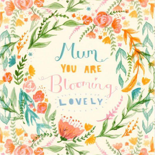 Mum You Are Blooming Lovely Card | Buy Stationary in Dubai UAE | Gifts