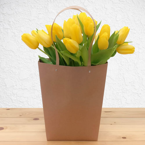 Yellow Garden Tulips | Buy Flowers in Dubai UAE | Gifts