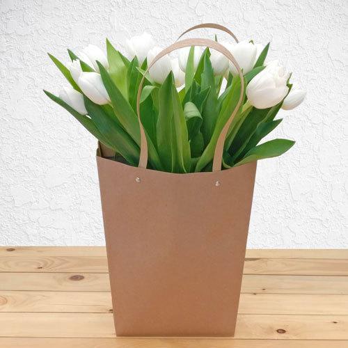 White Garden Tulips | Buy Flowers in Dubai UAE | Gifts