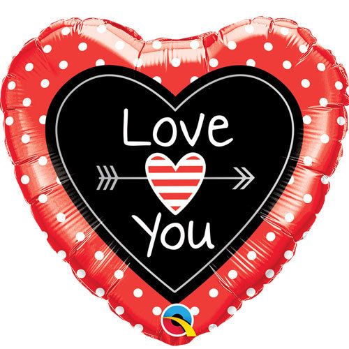I Love You Foil Balloon 2 | Buy Balloons in Dubai UAE | Gifts