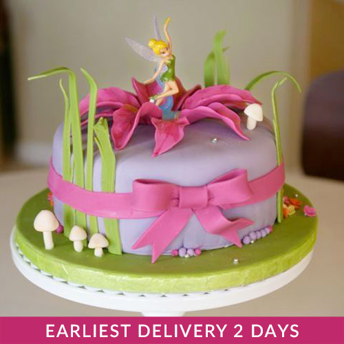 Outstanding Tinkerbell Cake Buy Cakes In Dubai Uae Gifts Personalised Birthday Cards Cominlily Jamesorg