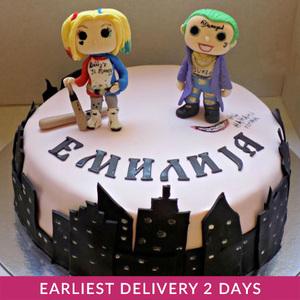 Suicide Squad Cake | Cake Delivery in Dubai