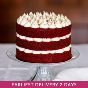 Red Velvet Naked Cake | Buy Cakes in Dubai UAE | Gifts