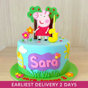 Peppa Pig Birthday Cake | Buy Cakes in Dubai UAE | Gifts