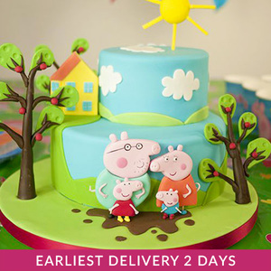 Peppa Pig Cake | Buy Cakes in Dubai UAE | Gifts