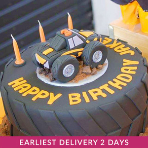 Monster Truck Cake | Buy Cakes in Dubai UAE | Gifts
