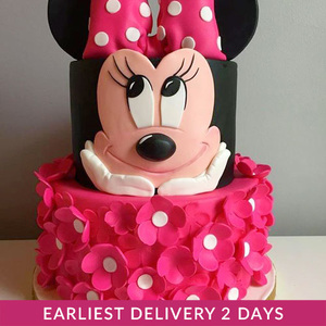 Minnie Mouse Birthday Cake | Buy Cakes in Dubai UAE | Gifts