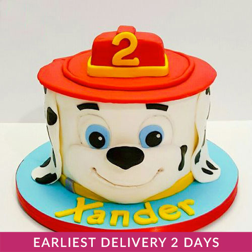 Marshall Paw Patrol Birthday Cake Buy Cakes In Dubai Uae