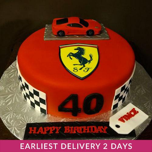 Ferrari Cake Buy Cakes In Dubai Uae Gifts