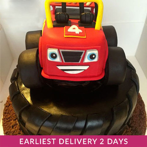 Blaze and the Monster Machines Cake | Buy Cakes in Dubai UAE | Gifts