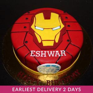 Iron Man Cake | Cake Delivery in Dubai