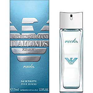 EMPORIO ARMANI Diamonds For Men Rocks EDT 75ml | Best Prices - 800Flower.ae