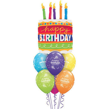 Giant Birthday Cake Balloon | Buy Balloons in Dubai UAE | Gifts