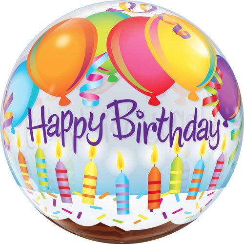 Happy Birthday Clear Plastic Balloon | Buy Balloons in Dubai UAE | Gifts