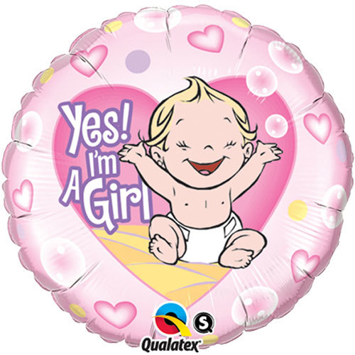 It's A Girl Foil Balloon | Buy Balloons in Dubai UAE | Gifts