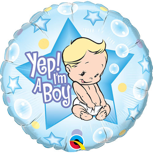 It's A Boy Foil Balloon | Buy Balloons in Dubai UAE | Gifts