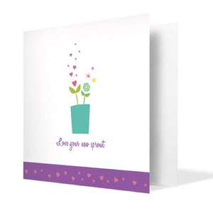 Celebrating New Blooms Card | Buy Stationary in Dubai UAE | Gifts