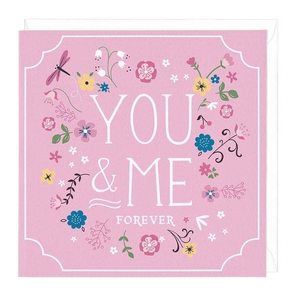 You and Me Forever Card | Buy Stationary in Dubai UAE | Gifts