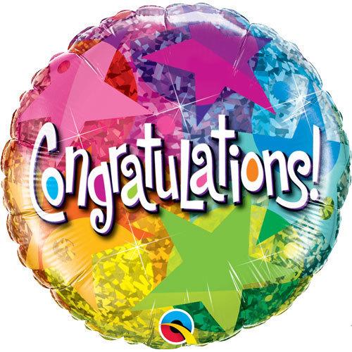 Congratulations Foil Balloon 2 | Buy Balloons in Dubai UAE | Gifts