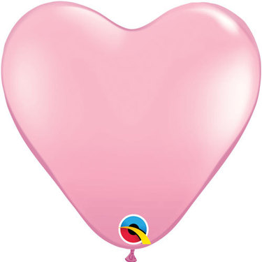 Heart Rubber Pink Balloon | Buy Balloons in Dubai UAE | Gifts