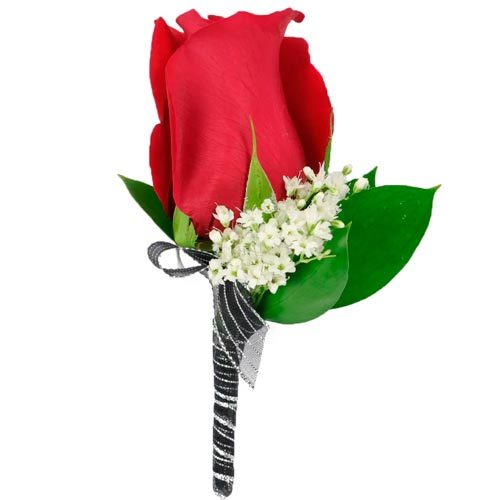 Red Rose Boutonnière | Buy Flowers in Dubai UAE | Gifts
