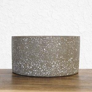 Cylinder Stone Pot