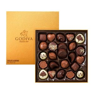 Godiva Gold Rigid Box 24pcs | Buy Chocolates in Dubai UAE | Gifts