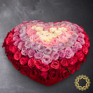 Infinite Love by Rose Privée | Buy Flowers in Dubai UAE | Gifts