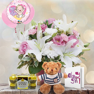 Newborn Baby Girl | Buy Flowers in Dubai UAE | Gifts