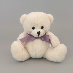 Teddy Bear - Purple Ribbon | Buy Gifts in Dubai UAE | Gifts