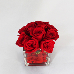 Everlasting Love with Red Roses | Buy Flowers in Dubai UAE | Gifts