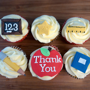 Teacher's Thank you Cupcakes | Buy Tearcher's Thank you Cupcakes in Dubai UAE | Gifts