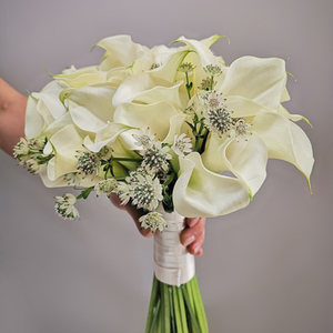 Pure Love Nosegay Bridal Bouquet | Buy Bridal Bouquets in Dubai UAE | Wedding Flowers
