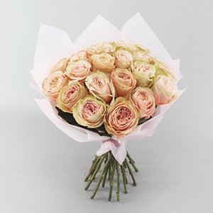 Everything's Peachy Flower Bouquet   Buy Flowers in Dubai UAE   Gifts